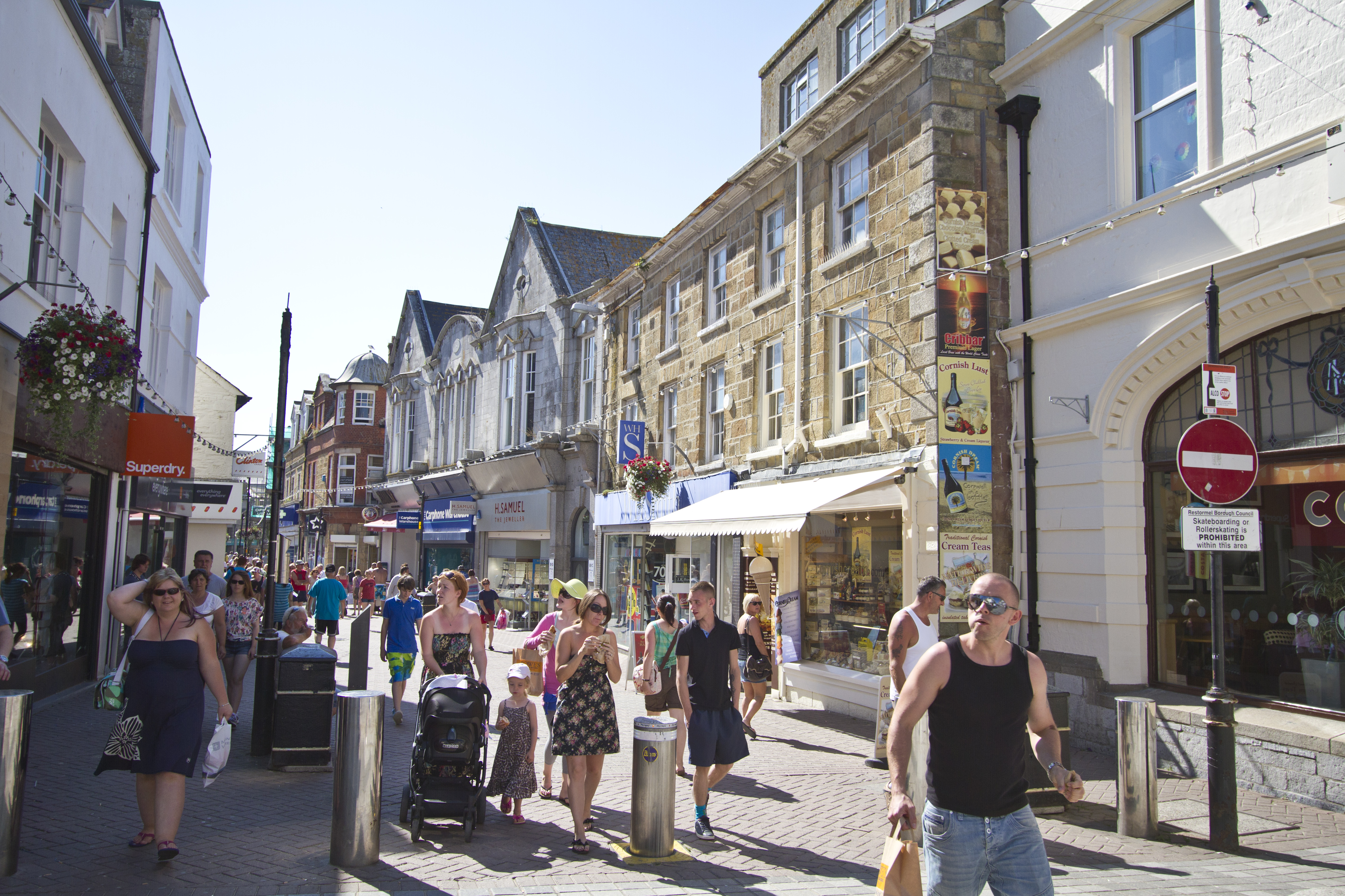 Newquay business improvement district 187 shops in newquay are set to